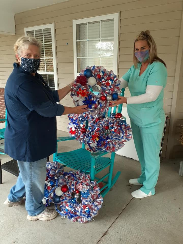 Somerset Court of Cherryville partners with local organizations to help make holidays special